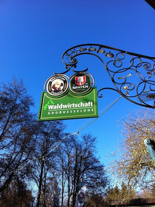 Forestry, Beer Garden, Sky, Blue, Beer, Munich