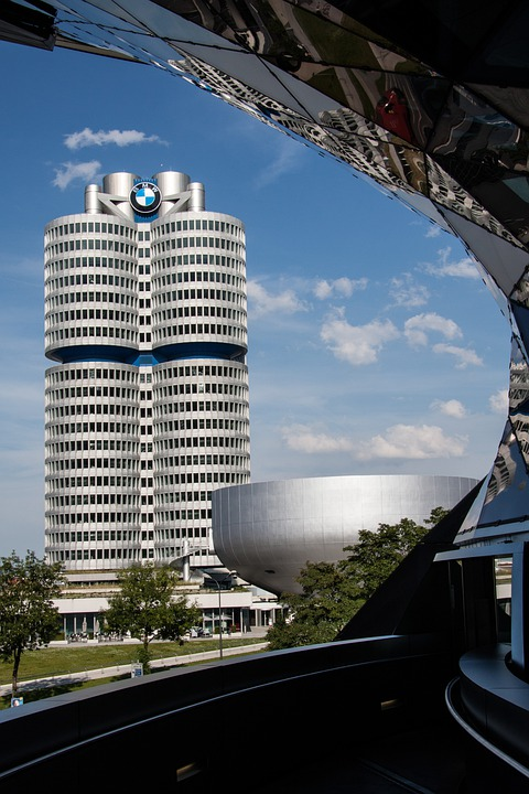Bmw World, Bmw Tower, Munich, Architecture, Building
