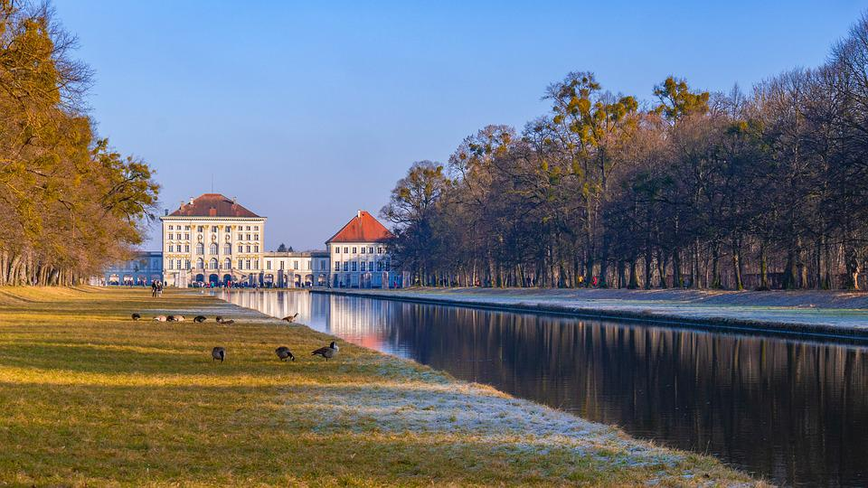 Munich, Castle, Castle Park, Nymphenburg Palace