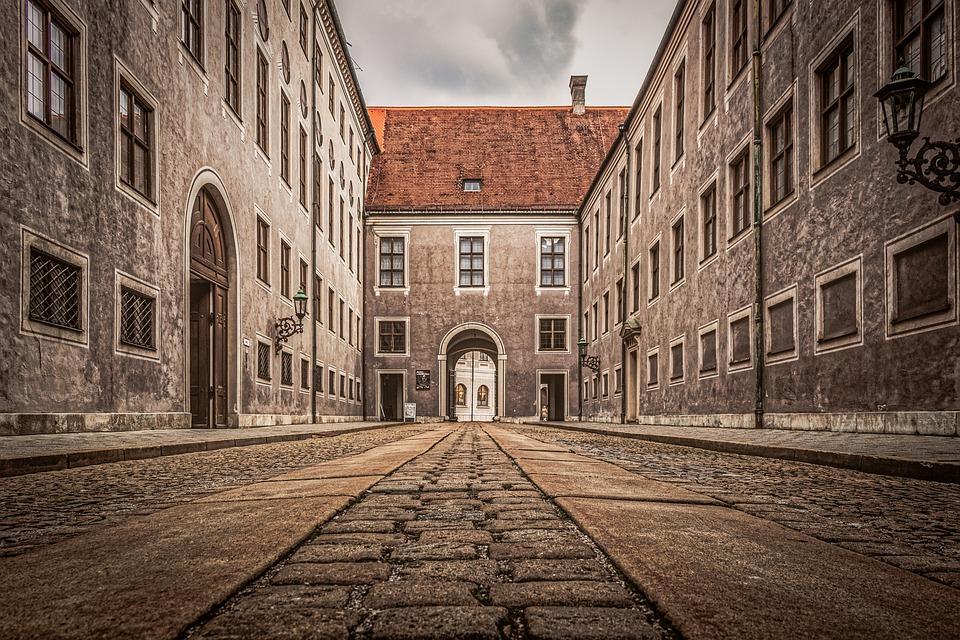 Munich, Architecture, Street, Old, City, Travel