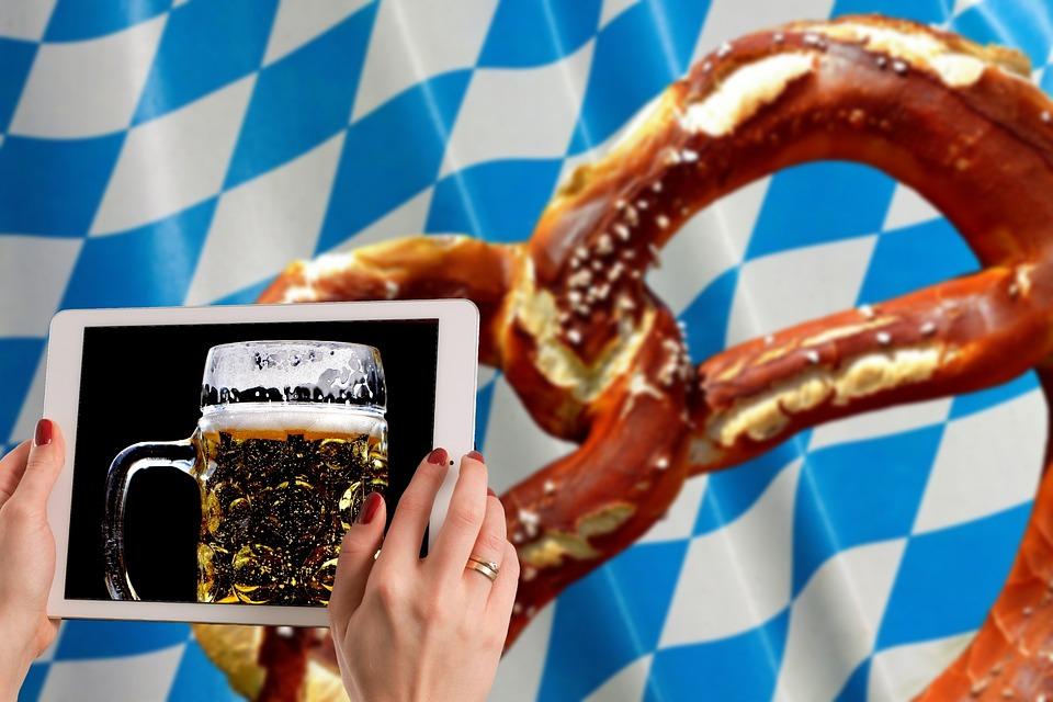 free photo munich pretzel bavaria oktoberfest beer max pixel