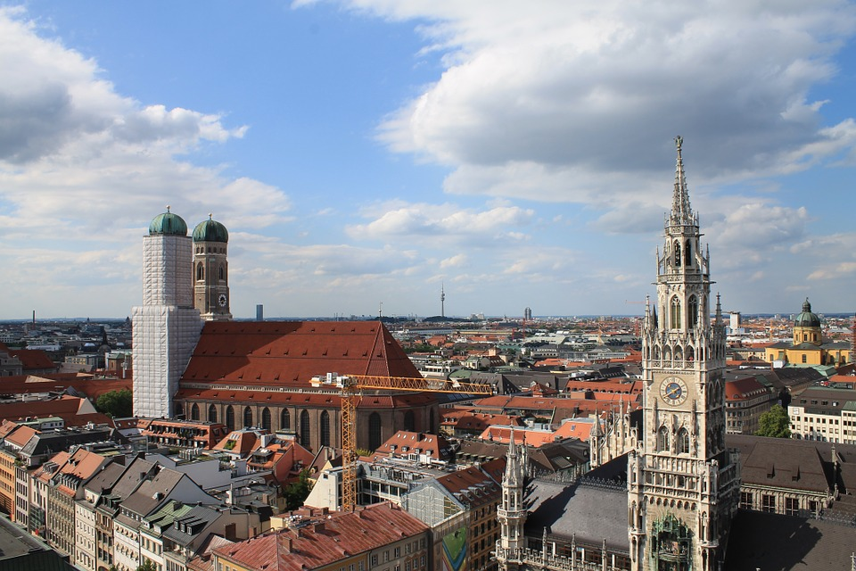 Munich, Church, Frauenkirche, Bavaria, City, Town Hall