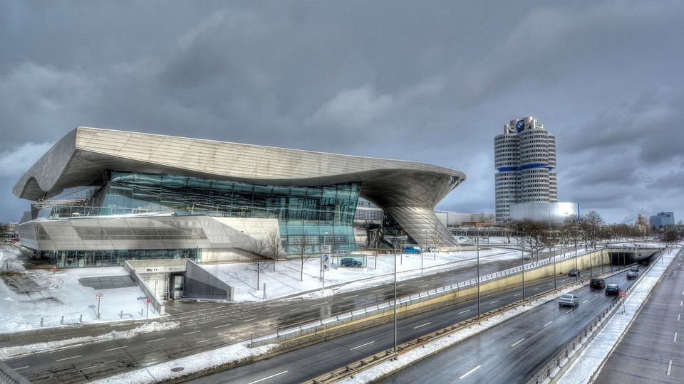 Munich, Bmw, Architecture, Coop Himmelbau, Traffic, Car
