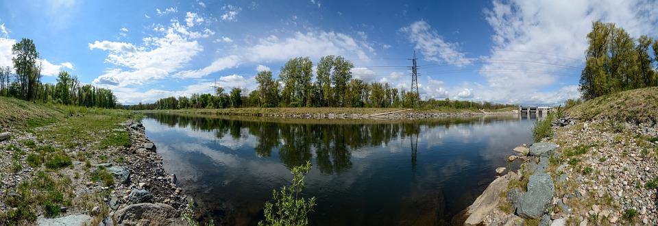 Mur, River, Styria, The Mur Promenade, Nature