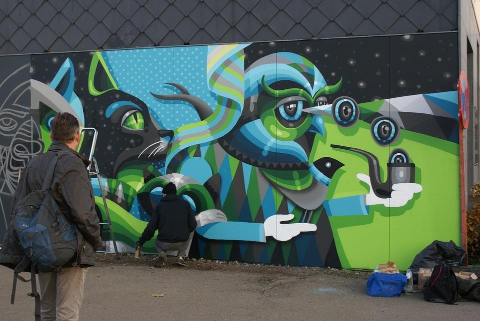 Streetart, Hasselt, Mural, Artist, Street Art