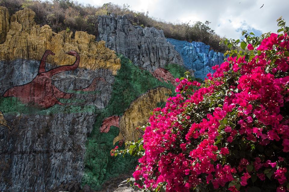 Cuba, Valle De Viñales, Mural De La Prehistoria