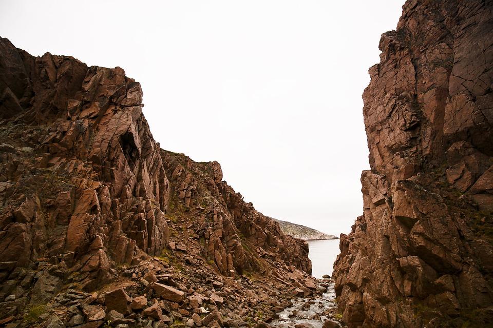Teriberka, Murmansk, Waterfall