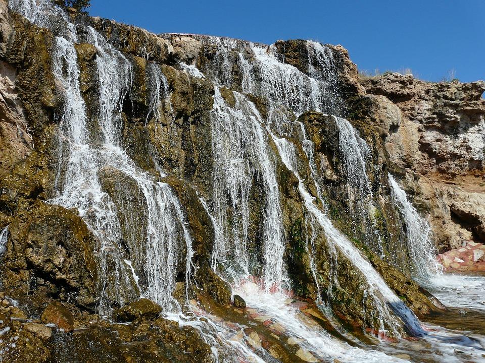 Waterfall, Bach, Cascades, Water, Murmur