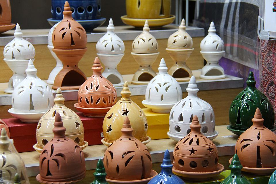 Pottery, Ceramic, Market, People, Clay, Souq, Muscat