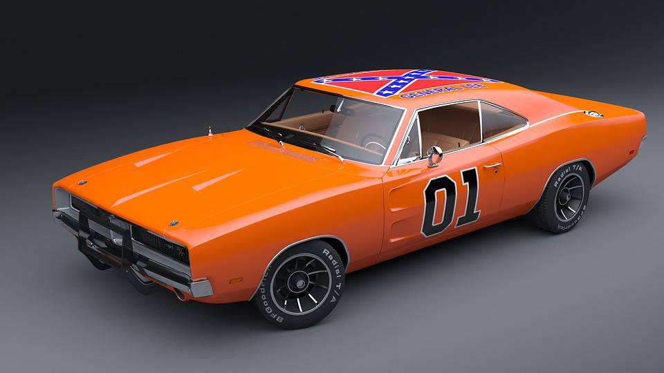 Free photo Muscle Car Dodge Charger General Lee American Car - Max Pixel
