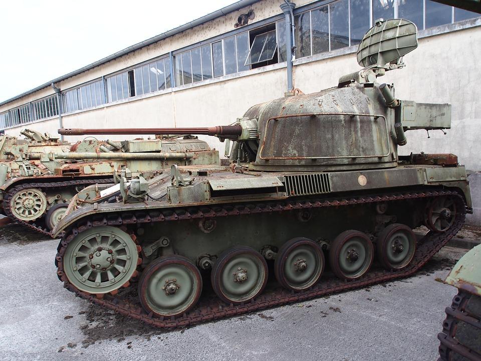 Amx 13, Tank, Dutch, Army, Museum, Armored, Artillery