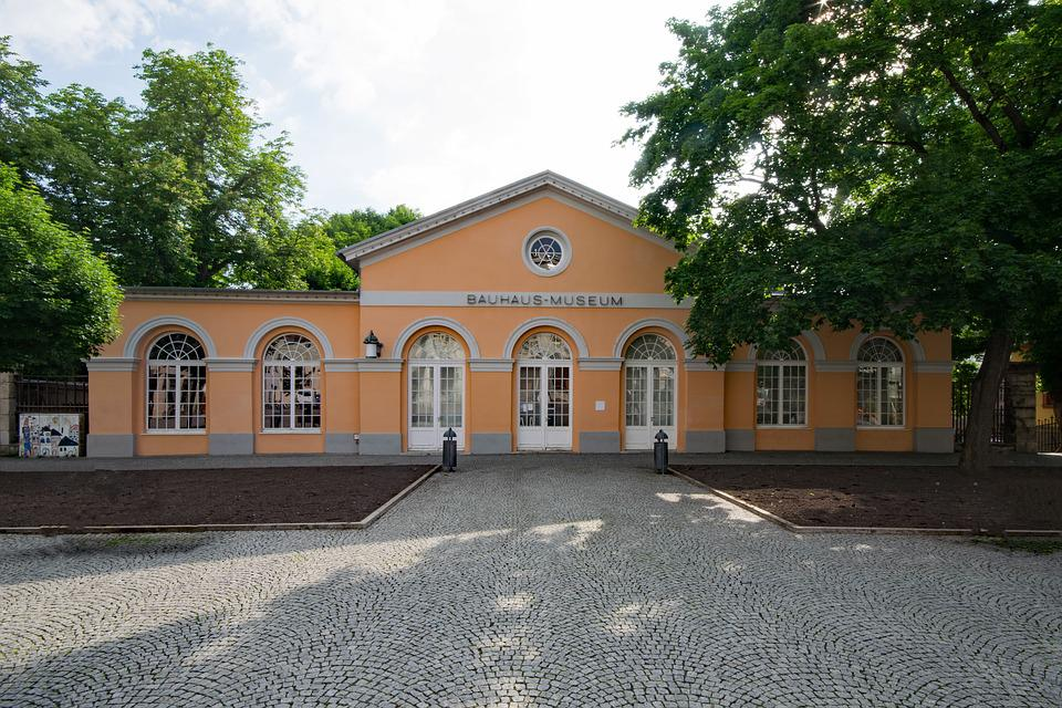 Bauhaus, Museum, Weimar, Thuringia Germany, Germany
