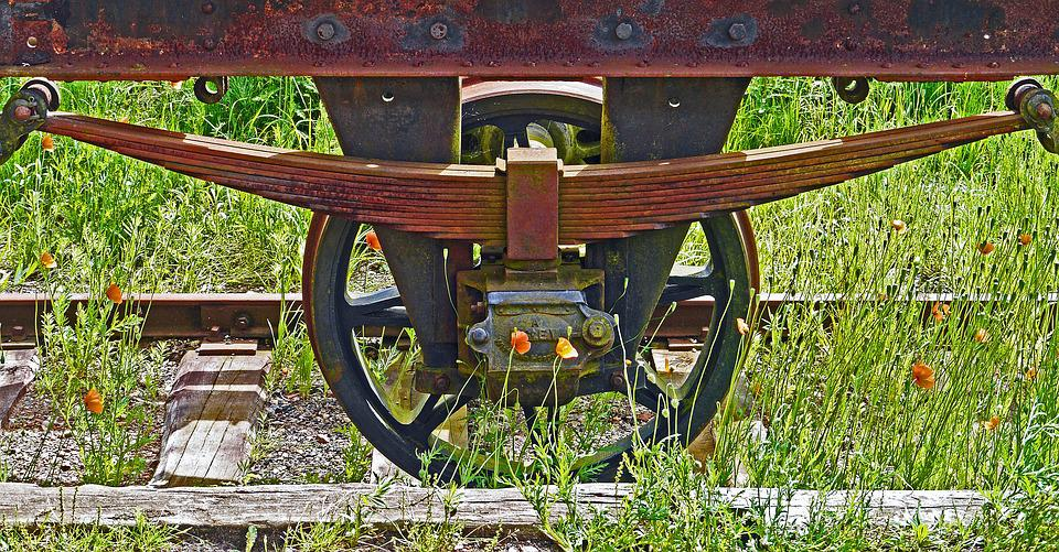 Siding, Museum, Stainless, Spoke Wheel, Country Track