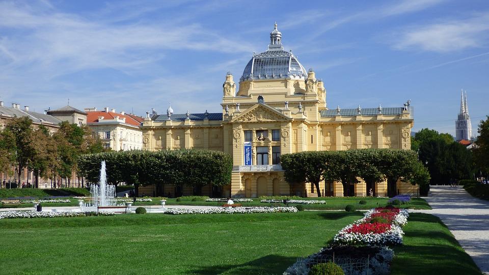 Zagreb, Croatia, Art, Museum, Pavilion, Gallery