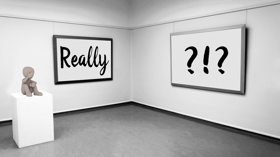 Question, Really, Question Mark, Doubt, Museum