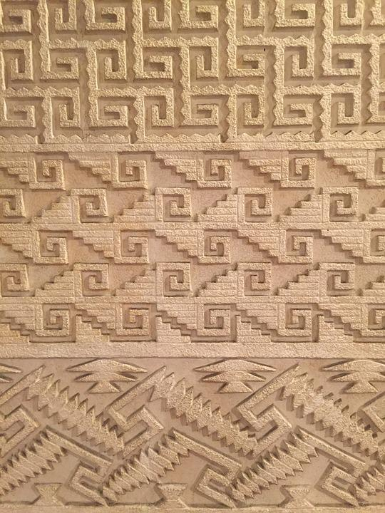 Reason, Patterns, Relief, Texture, Museum, Geometric