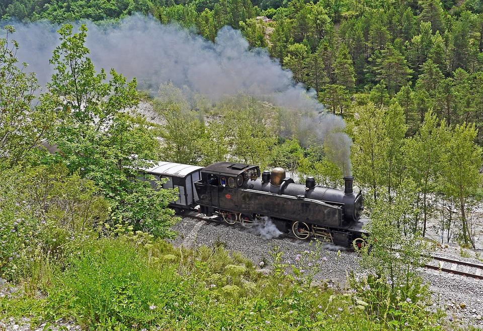Steam Locomotive, Museum Train, Museum Ride, Le Var