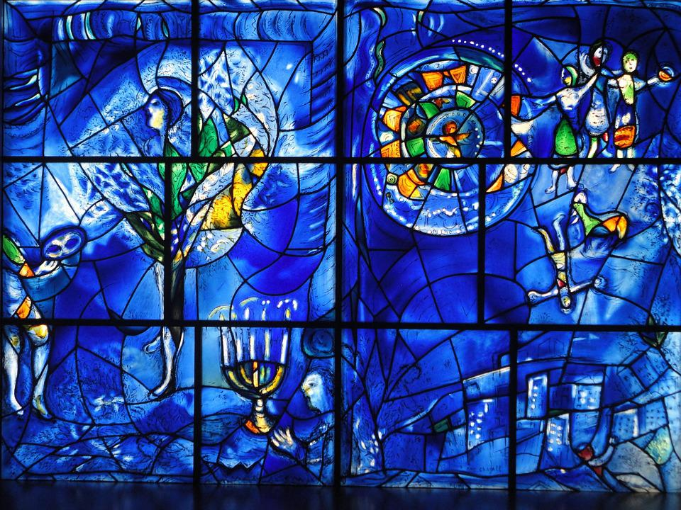 Art, Museum, Stained Glass Window