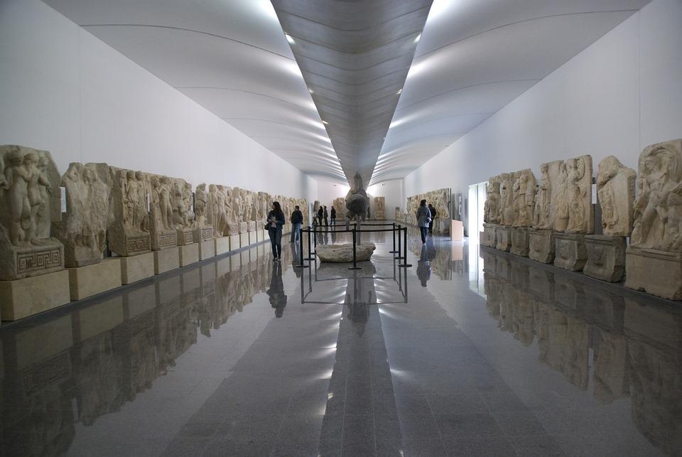 Museum, Art, Sculpture, On, Travel, Culture