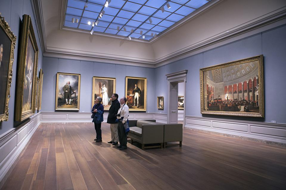 Within, Room, Museum, Architecture, Washington