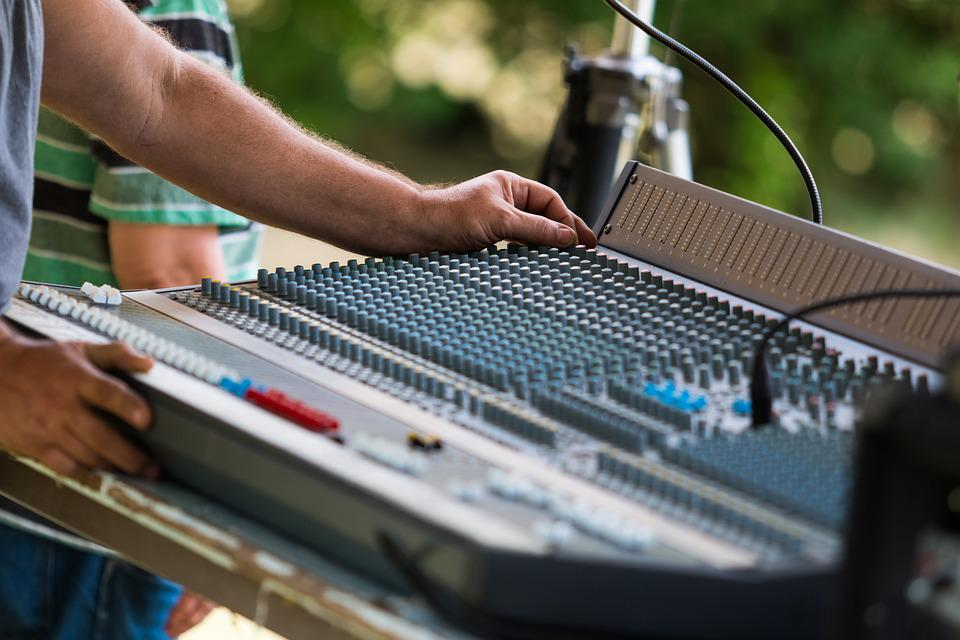 Sound, Mixer, Mixing Board, Mixing Panel, Music, Audio