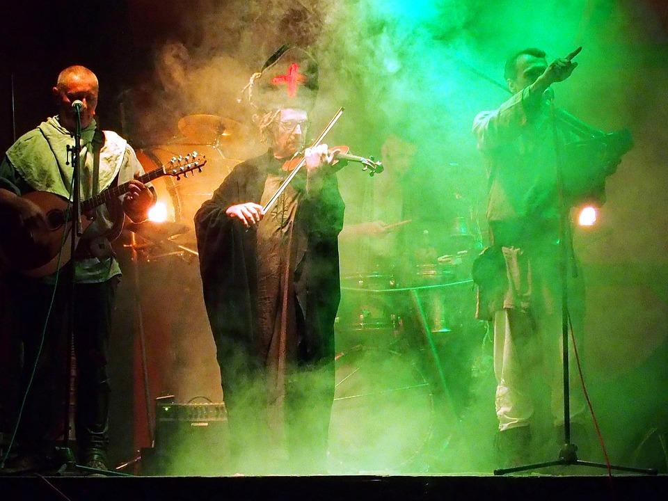 Band, Music, Musician, Concert, Rock, Singer, Lights