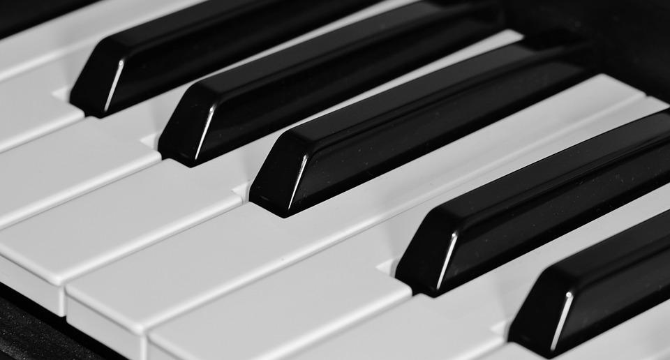 Piano, Keyboard, Keys, Music, Instrument, Black, White