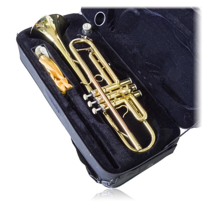 Trumpet, Music, Instrument, Isolated, Brass, Jazz