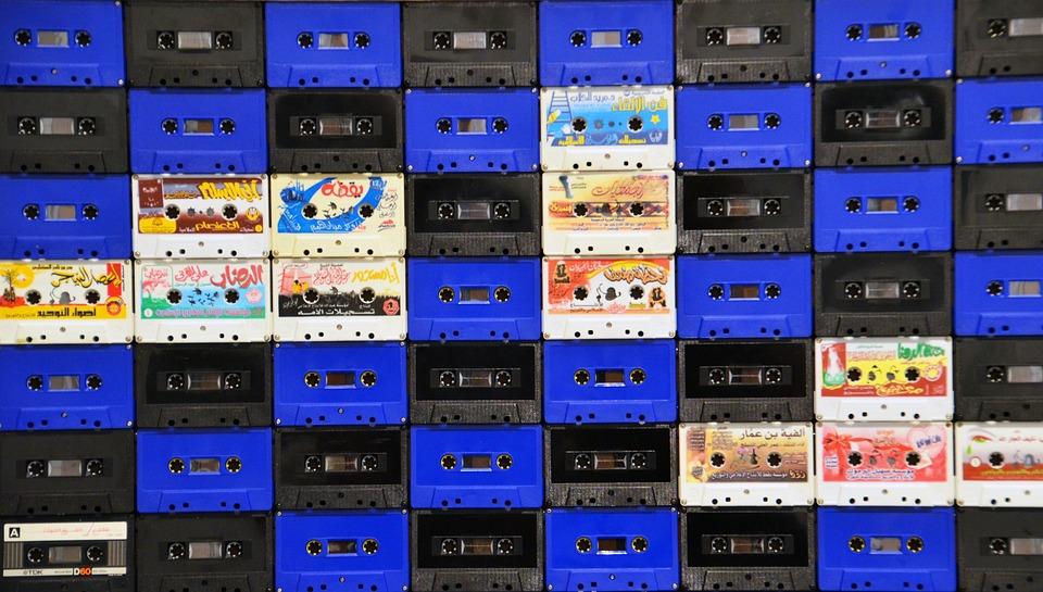 Music, Music Cassettes, Cassettes, Analog, Vintage