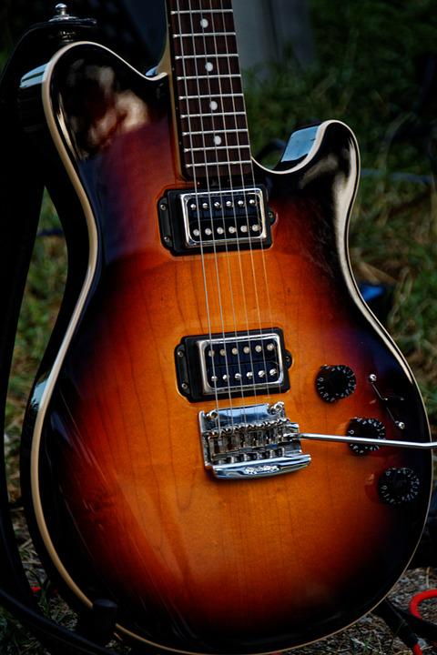 Guitar, Electric Guitar, Instrument, Music, Strings