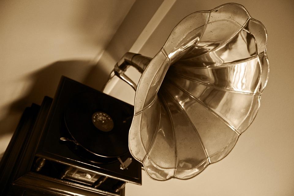 Gramophone, Music, Old School, Turntable, Vynil, Disc