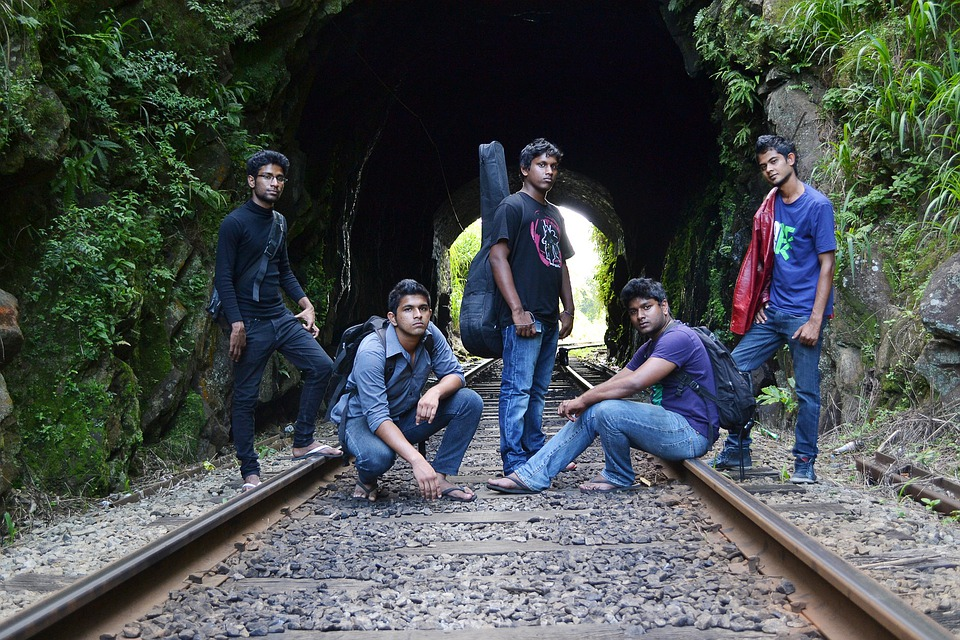 Band, Music, Play, Song, Guitar, Guitarist, Pose, Team