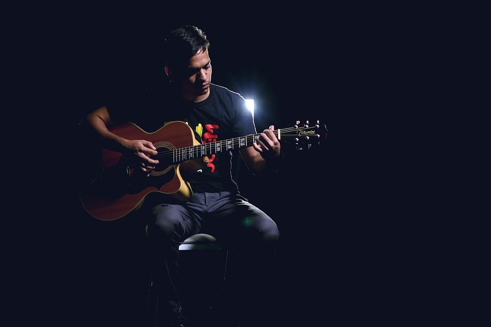 Music, Guitar, Instrument, Microphone, Musician