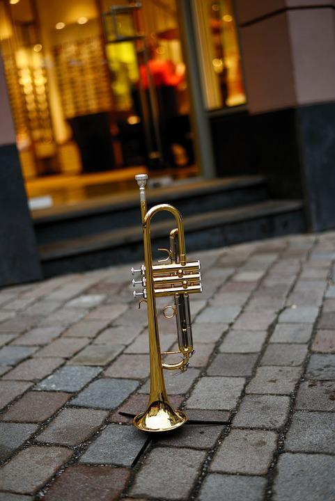 Trumpet, Brass Instrument, Music, Instrument