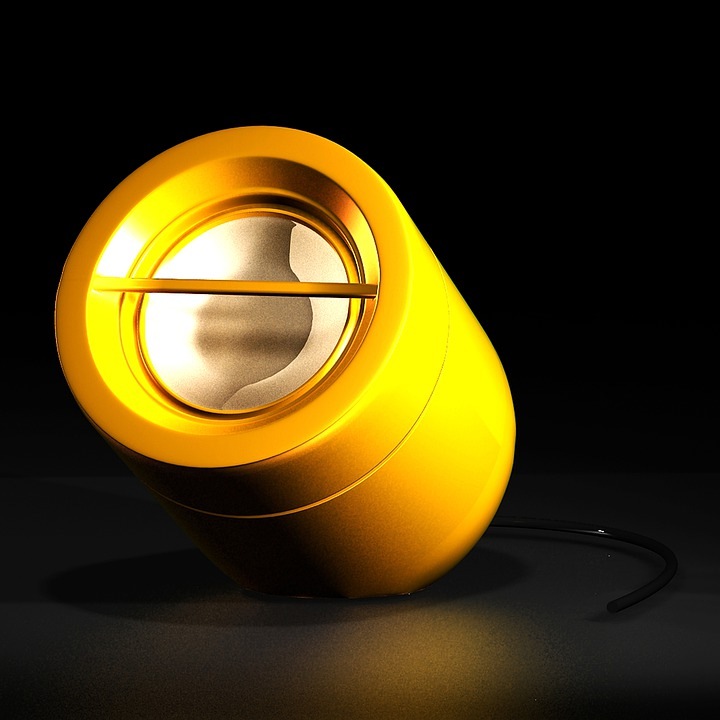 Speaker, Yellow, Phone, Loudspeaker, Music, 3d