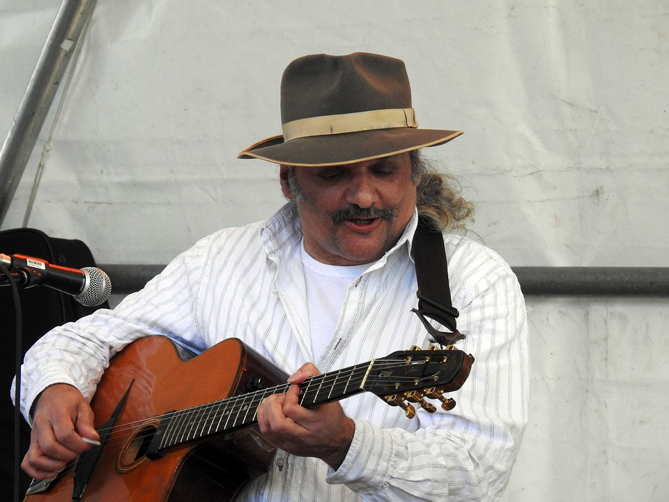 Musician, Guitar, Music, Street Musicians, Instrument