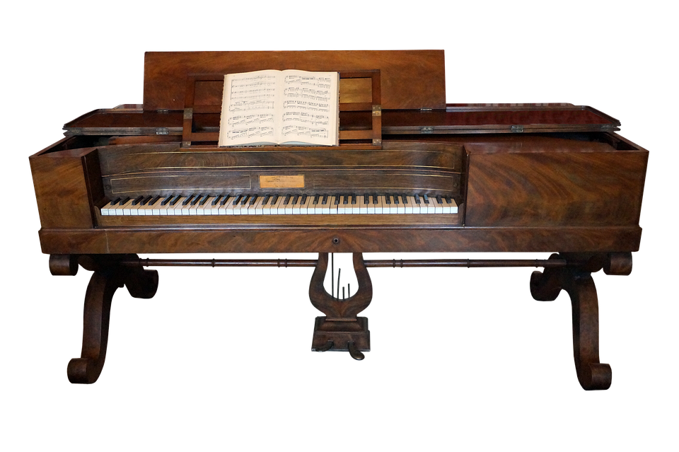 Piano, Music, Keyboard, Instrument, Musician, Song, Old