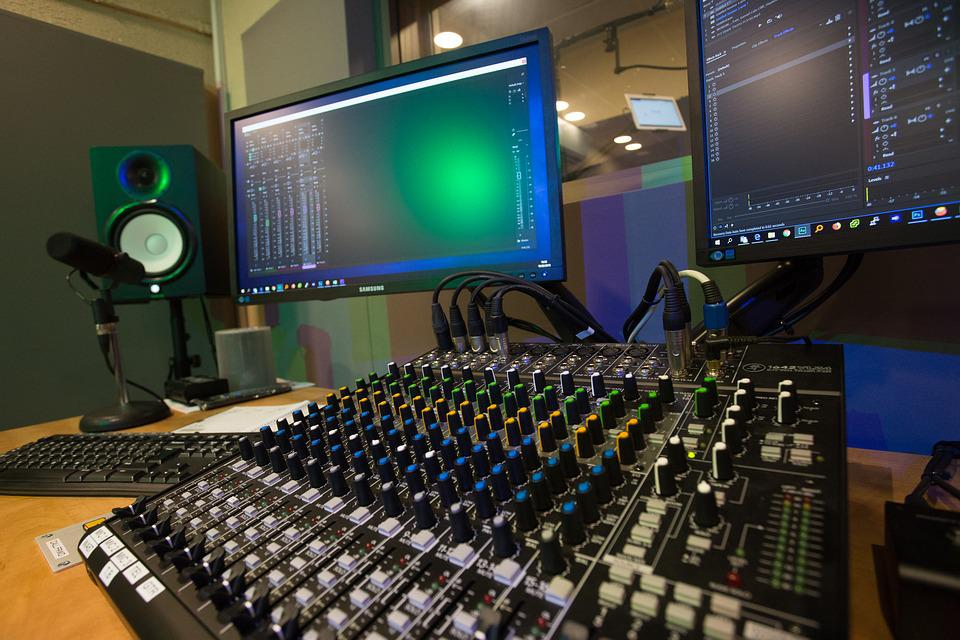 Studio, Recoding, Record, Audio, Music, Entertainment
