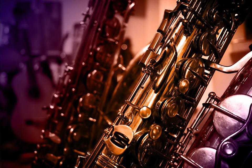 Instrument, Music, Design, Artwork, Saxophone