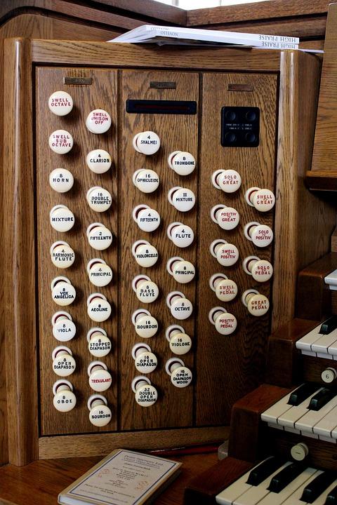 Organ, Music, Instrument, Musical, Keyboard, Sound