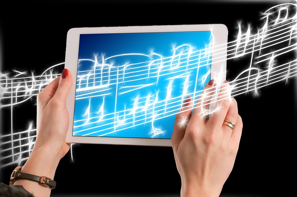 Music, Treble Clef, Hands, Keep, Ipad, Tablet