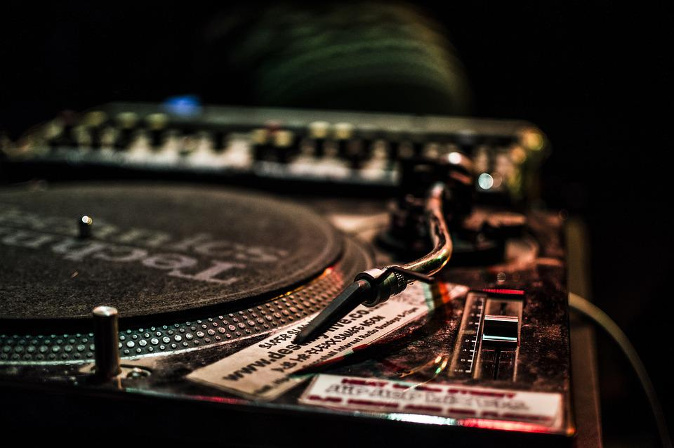 Dj, Vinyl, Music, Turntable, Player