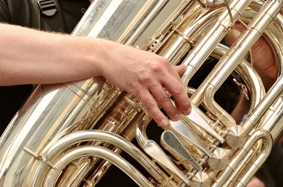 Tuba, Brass Band, Musical Instrument, Brass Instrument