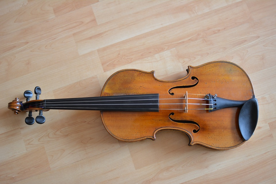 Violin, Musical Instrument, Classic, Music, Curl