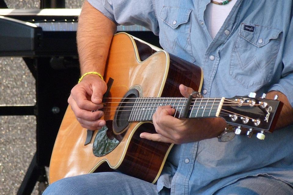 Guitar, Musical Instrument, Play, Play Guitar