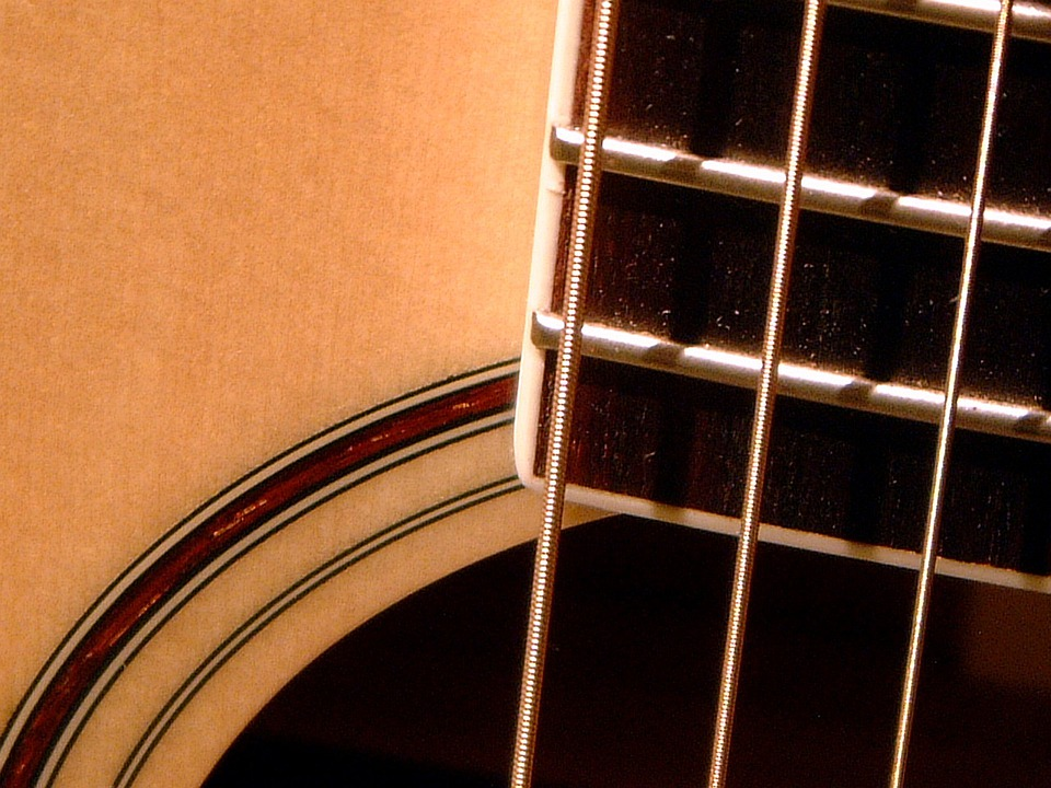 Guitar, Acoustic, Music, Musical Instrument, Sound
