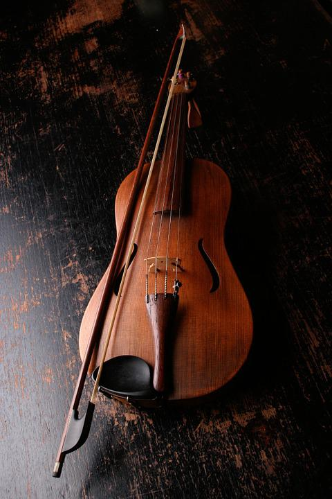 Violin, Musical Instrument, Music, Sound