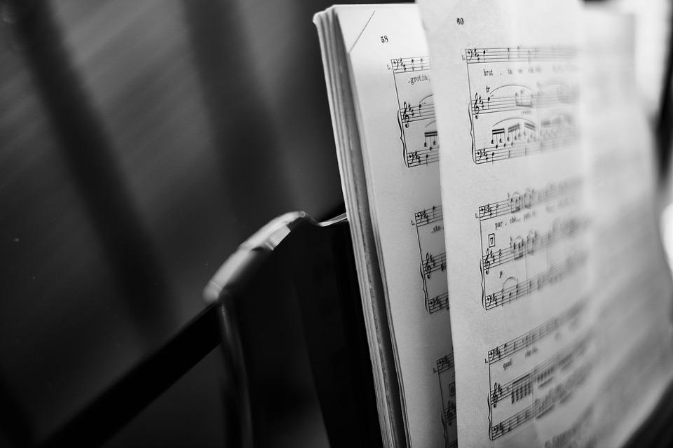 Depth Of Field, Music, Music Notations, Musical Notes