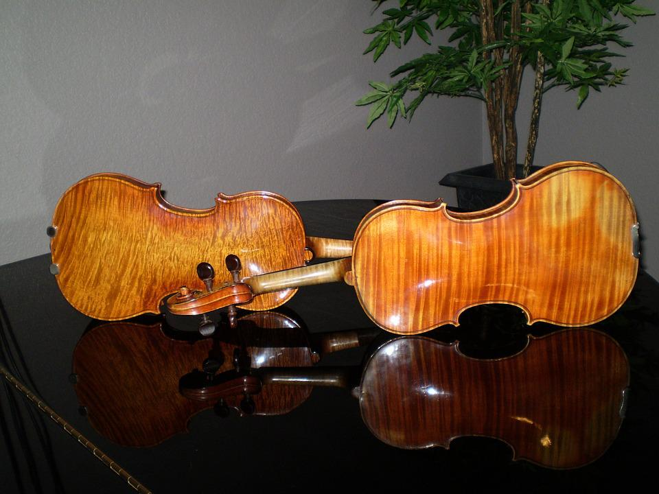 Violins, Piano, Music, Musical, Instrument, Sound