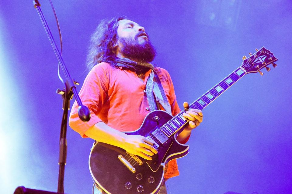 Guitar, Concert, Rock, Chimbote, Scene, Music, Musician